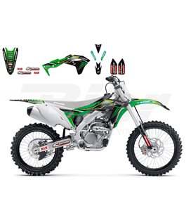 KIT DE ADHESIVOS BLACKBIRD RÉPLICA TEAM MONSTER ENERGY 2016 KAWASAKI 2424R8