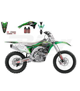 KIT ADHESIVOS BLACKBIRD RÉPLICA MONSTER ENERGY KAWASAKI RACING TEAM 2016 2423R8