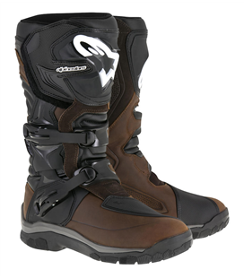 COROZAL ADVENTURE DRYSTAR BOOTS OILED LEATHER BROWN BLACK