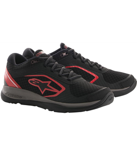 ALLOY SHOES BLACK RED