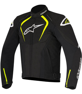 T-JAWS WATERPROOF JACKET BLACK YELLOW FLUO