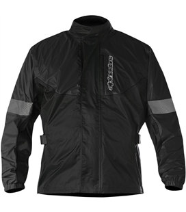 HURRICANE RAIN JACKET BLACK
