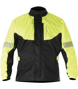 HURRICANE RAIN JACKET YELLOW FLUO BLACK