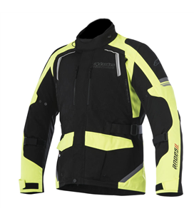 ANDES V2 DRYSTAR JACKET BLACK YELLOW FLUO