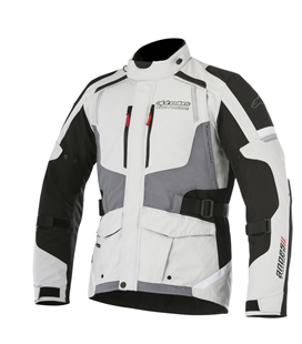 ANDES V2 DRYSTAR JACKET LIGHT GRAY BLACK DARK GRAY
