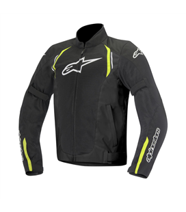 AST AIR TEXTILE JACKET BLACK YELLOW FLUO