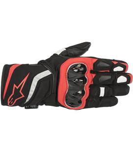 T-SP W DRYSTAR GLOVES BLACK RED