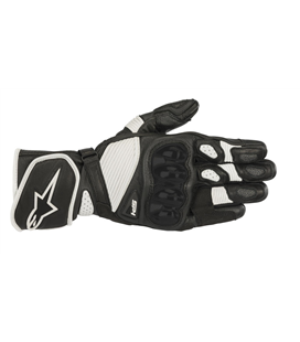 SP-1 V2 GLOVES BLACK WHITE