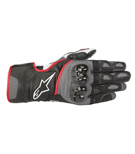 SP-2 V2 GLOVES BLACK GRAY RED FLUO