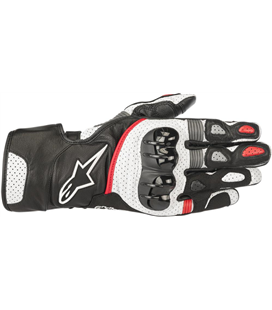 SP-2 V2 GLOVES BLACK WHITE RED