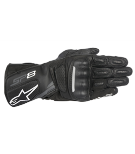 SP-8 V2 GLOVES BLACK DARK GRAY