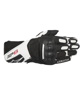 SP-8 V2 GLOVES BLACK WHITE
