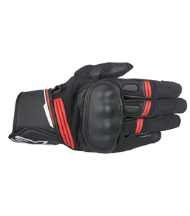 BOOSTER GLOVE BLACK RED