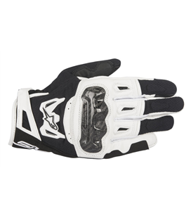 SMX-2 AIR CARBON V2 GLOVE BLACK WHITE
