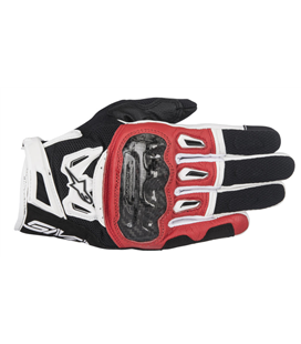 SMX-2 AIR CARBON V2 GLOVE BLACK RED WHITE