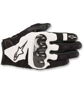 SMX-1 AIR V2 GLOVES BLACK WHITE