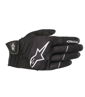 ATOM GLOVES BLACK WHITE