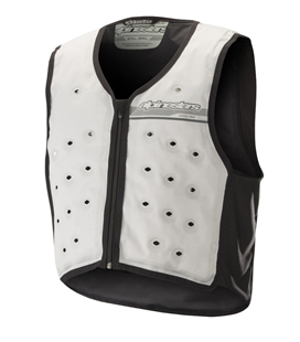 COOLING VEST LIGHT GRAY DARK GRAY