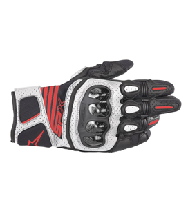 SP X AIR CARBON V2 GLOVE BLACK WHITE RED FLUO