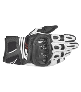 SP X AIR CARBON V2 GLOVE BLACK WHITE