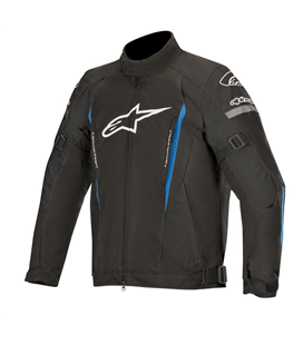 GUNNER V2 WP JACKET BLACK BRIGHT BLUE