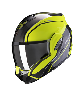 SCORPION EXO-TECH TIME OFF NEGRO AMARILLO FLUOR