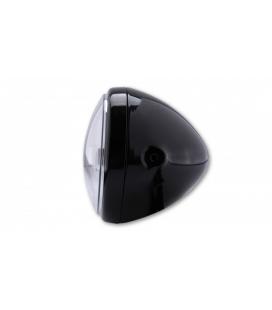 HIGHSIDER HIGHSIDER 7 INCH LED HEADLIGHT RENO TYPE 4, BLACK