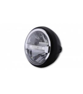 HIGHSIDER HIGHSIDER 7 INCH LED HEADLIGHT BRITISH-STYLE TYPE 4, BLACK