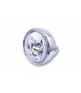 HIGHSIDER 7 INCH LED HEADLAMP LTD TYPE 8 WITH DRL, BEND LIGHT