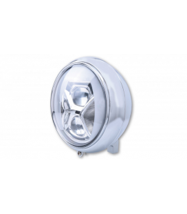 HIGHSIDER 7 INCH LED HEADLAMP YUMA 2 TYPE 8 WITH DRL, BEND LIGHT