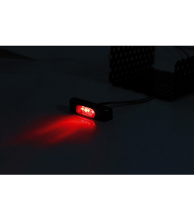 HIGHSIDER LED TAILLIGHT CONERO T2, SMOKE LENS