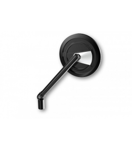HIGHSIDER HIGHSIDER CNC HANDLEBAR MIRROR ENTERPRISE-EP1, BLACK / SILVER