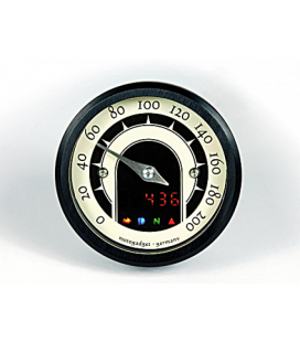 MOTOGADGET SPEEDOMETER MOTOSCOPE TINY SPEEDSTER, BLACK