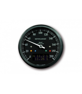 MOTOGADGET CHRONOCLASSIC SPEEDO DARK EDITION