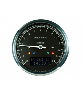 MOTOGADGET CHRONOCLASSIC REV COUNTER DARK EDITION -14.000 RPM