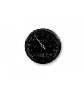 MOTOGADGET MOTOSCOPE CLASSIC REV COUNTER DARK EDITION 10.000 RPM