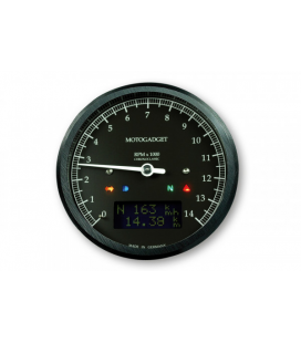 MOTOGADGET MOTOSCOPE CLASSIC REV COUNTER DARK EDITION 14.000 RPM
