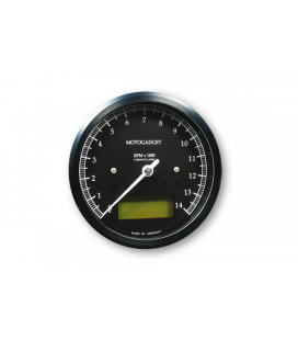 MOTOGADGET CHRONOCLASSIC REV COUNTER -14.000 RPM, GREEN LCD