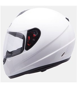 CASCO MT THUNDER INFANTIL SOLID BLANCO BRILLO
