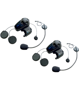 SMH10D HEADSET KIT DUAL-PACK KIT WITH UNIVERSAL MICROPHONES BLACK