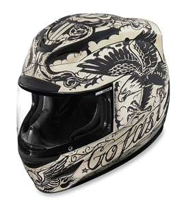 CASCO ICON AIRMADA SCRAWL BLANCO
