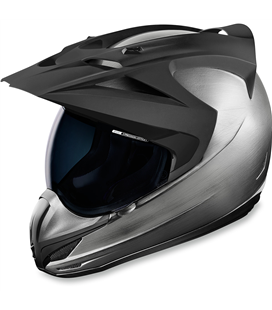 CASCO ICON VARIANT QUICKSILVER PLATA NEGRO