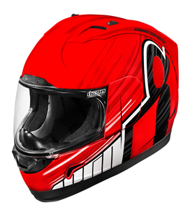 CASCO ICON ALLIANCE OVERLORD ROJO 3XL