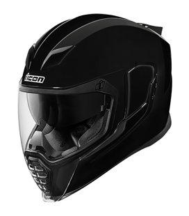 CASCO ICON AIRFLITE NEGRO