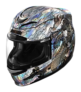 CASCO ICON AIRMADA LEGION PLATA