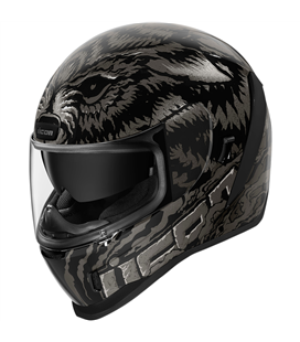 CASCO ICON AIRFORM LYCAN NEGRO