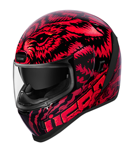 CASCO ICON AIRFORM LYCAN ROJO