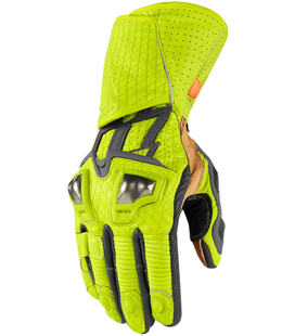 GUANTES ICON HYPERSPORT LARGOS FLUOR