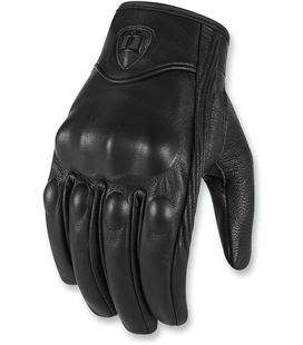 GUANTES ICON MUJER MORADOSUIT CE NEGRO