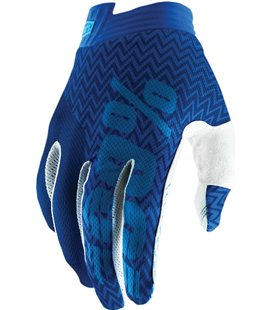 YOUTH ITRACK GUANTES CORTOS BLUE/NAVY